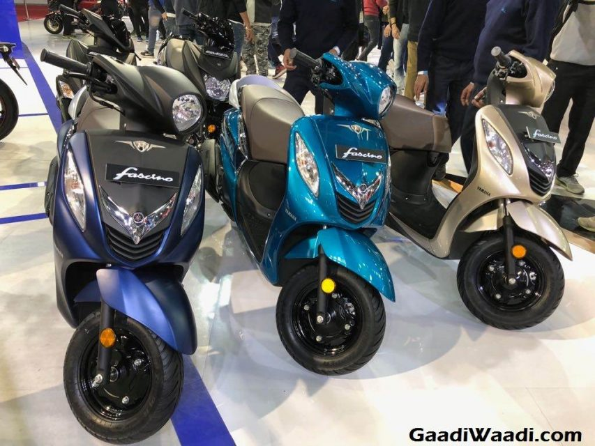2018 Yamaha Fascino Launch, Price, Engine, Specs, Features 7