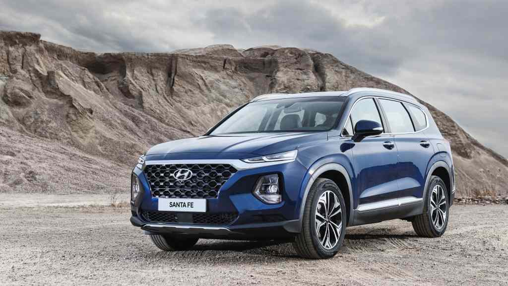 India Bound 2019 Hyundai Santa Fe Launched In Us From 25 500 Rs