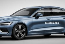 2019 Volvo S60 Sedan Digitally Imagined With V60's Design Cues 1