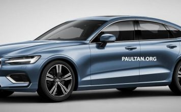2019 Volvo S60 Sedan Digitally Imagined With V60's Design Cues 1