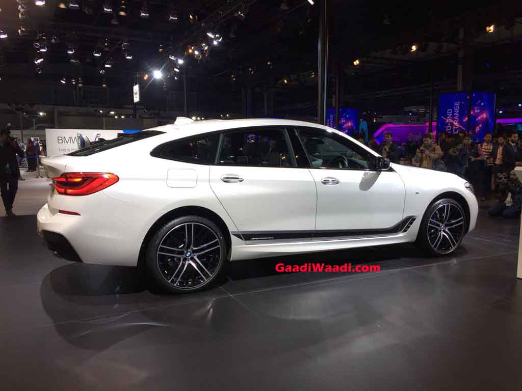 2018 Auto Expo Bmw 6 Series Gt Launched In India At Rs 58 90 Lakh
