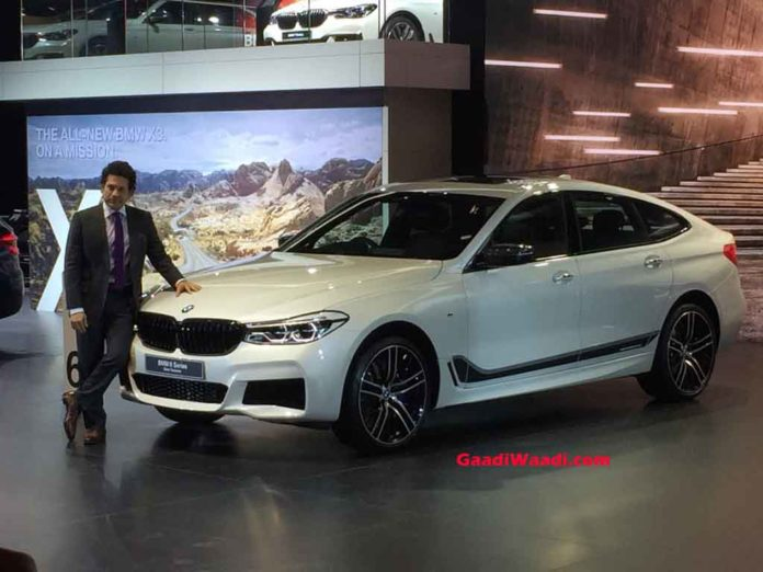 2018 auto expo bmw 6 series gt launched in india at rs lakh. Black Bedroom Furniture Sets. Home Design Ideas