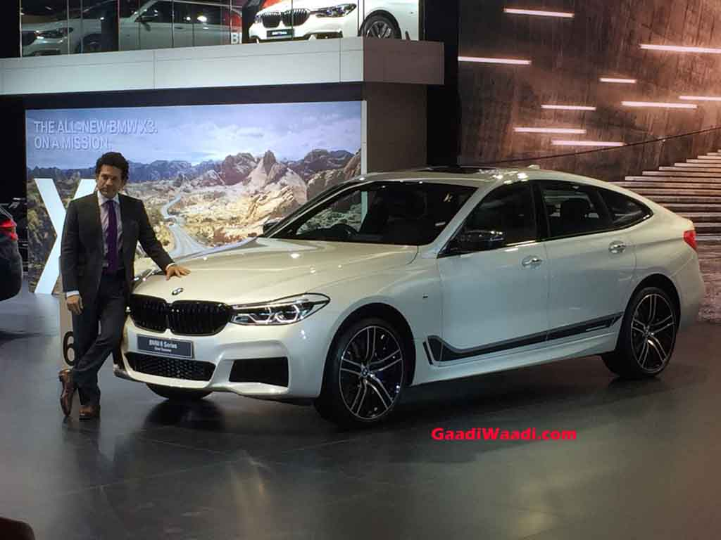 2018 auto expo bmw 6 series gt launched in india at rs. Black Bedroom Furniture Sets. Home Design Ideas