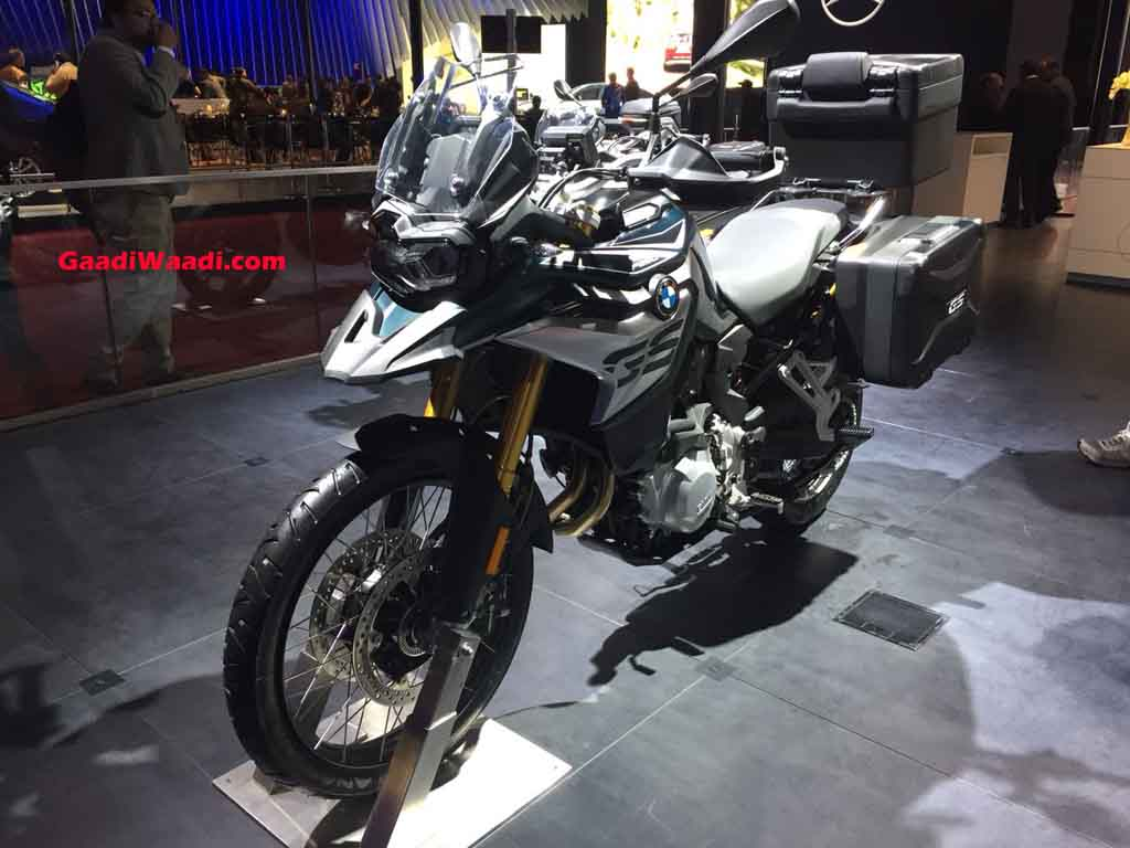 2018 Auto Expo Bmw F850gs Enters Indian Market Priced At Rs 13 7 Lakh