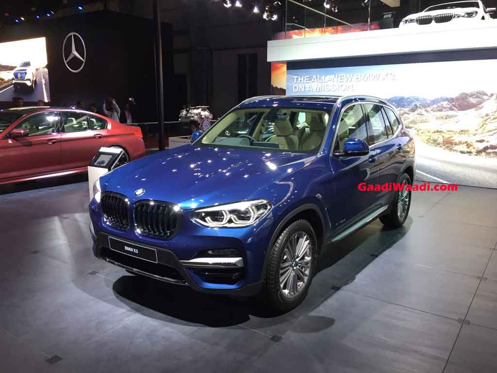 New Engines For Sale >> 2018 Auto Expo: New BMW X3 Breaks Cover Ahead Of Launch