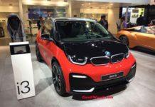 bmw i3s auto expo (bmw i3s india launch)