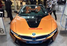 bmw i8 roadster auto expo