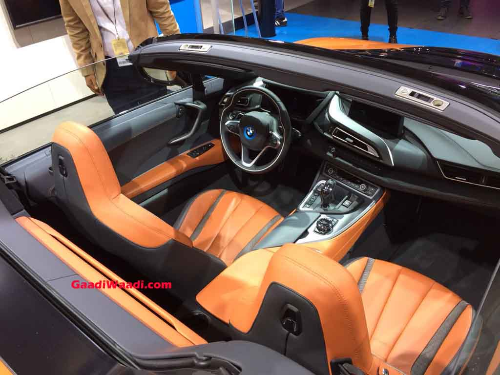 2018 Auto Expo New Bmw I8 Roadster Comes To The Fore