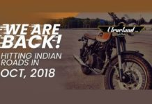 Cleveland CycleWerks To Officially Enter Indian Market In October