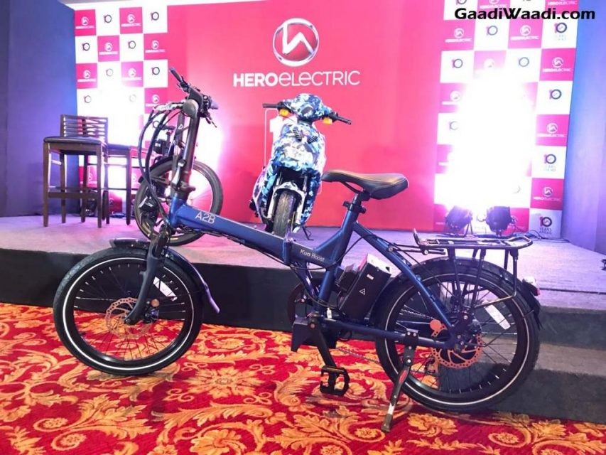 Hero AXLHE-20, A2B Speed and Kuo Boost Electric Bicycle 1