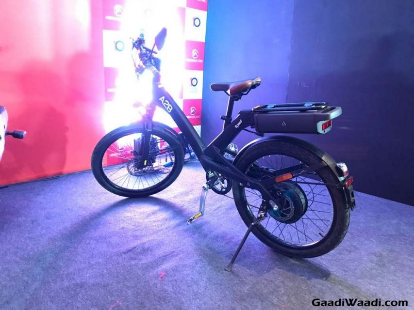 Hero AXLHE-20, A2B Speed and Kuo Boost Electric Bicycle 2