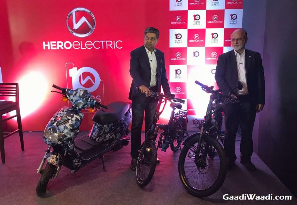 Hero AXLHE-20, A2B Speed and Kuo Boost Electric Bicycle (Hero Electric High Speed Scooter)