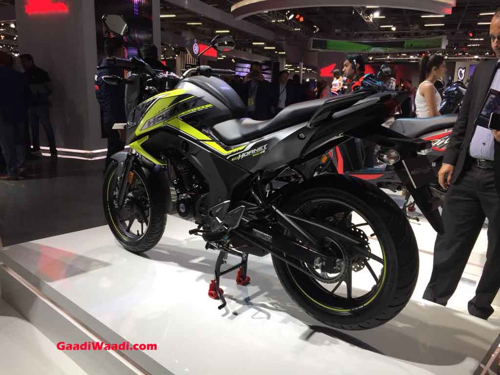 honda cb hornet 160r abs launched in india price specs. Black Bedroom Furniture Sets. Home Design Ideas