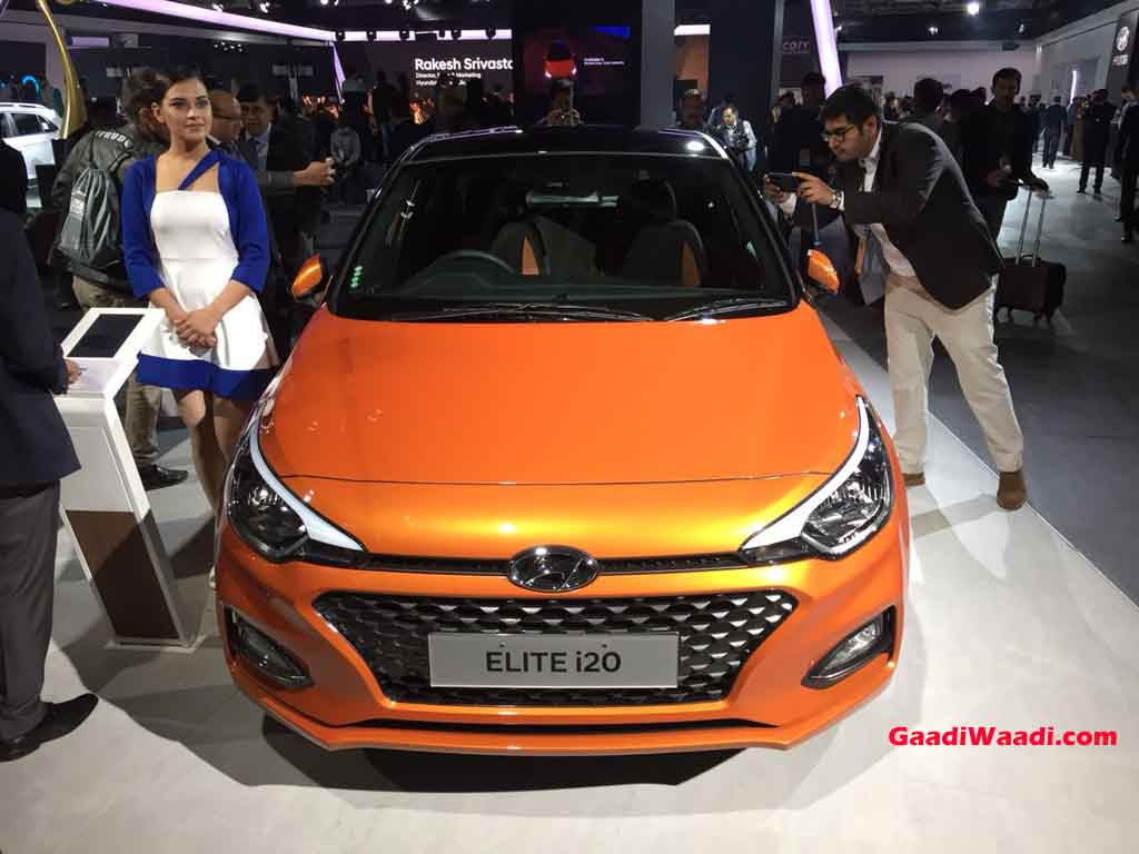 2018 Hyundai Elite I20 Facelift India Launch Price Specs Features