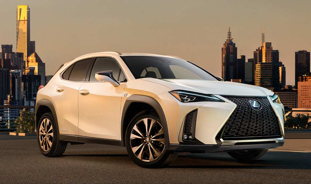 India-Bound Lexus UX SUV Revealed Finally!