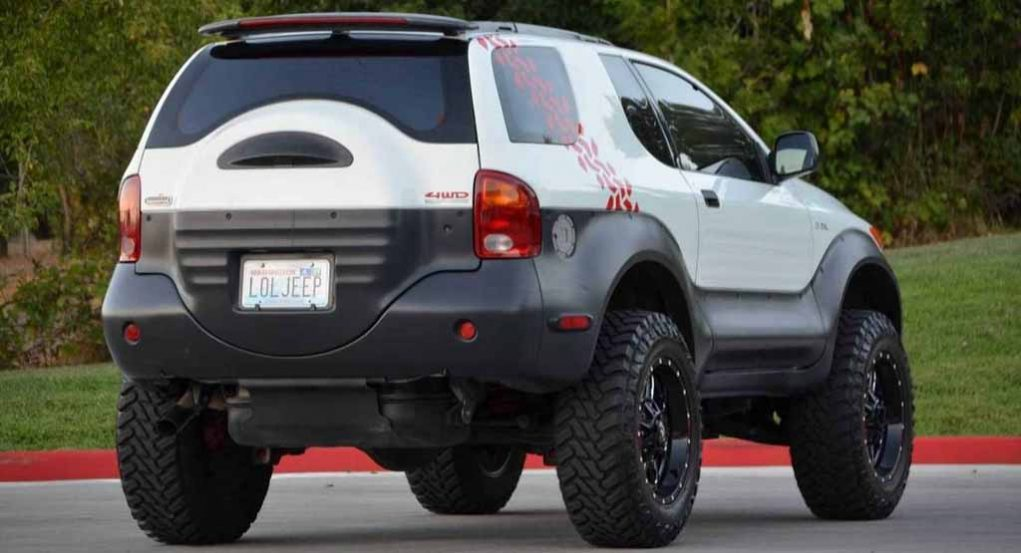 Isuzu Vehicross Ironman Edition Is A Funky Yet Tough Off