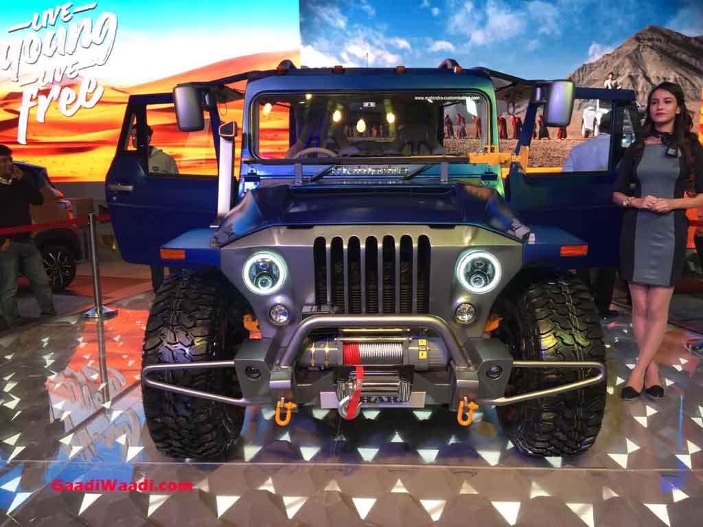 Mahindra Thar Wanderlust Custom Vehicle Will Make You Drool