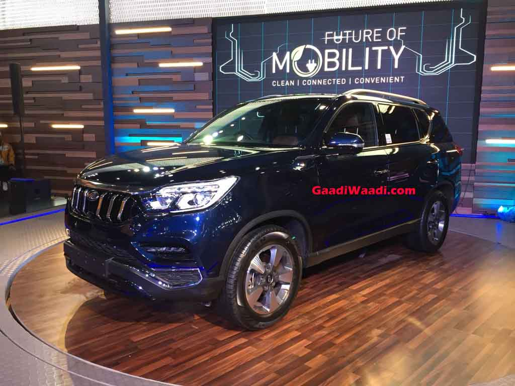 2018 Auto Expo Mahindra Xuv700 Fortuner Rival Makes Grand Appearance