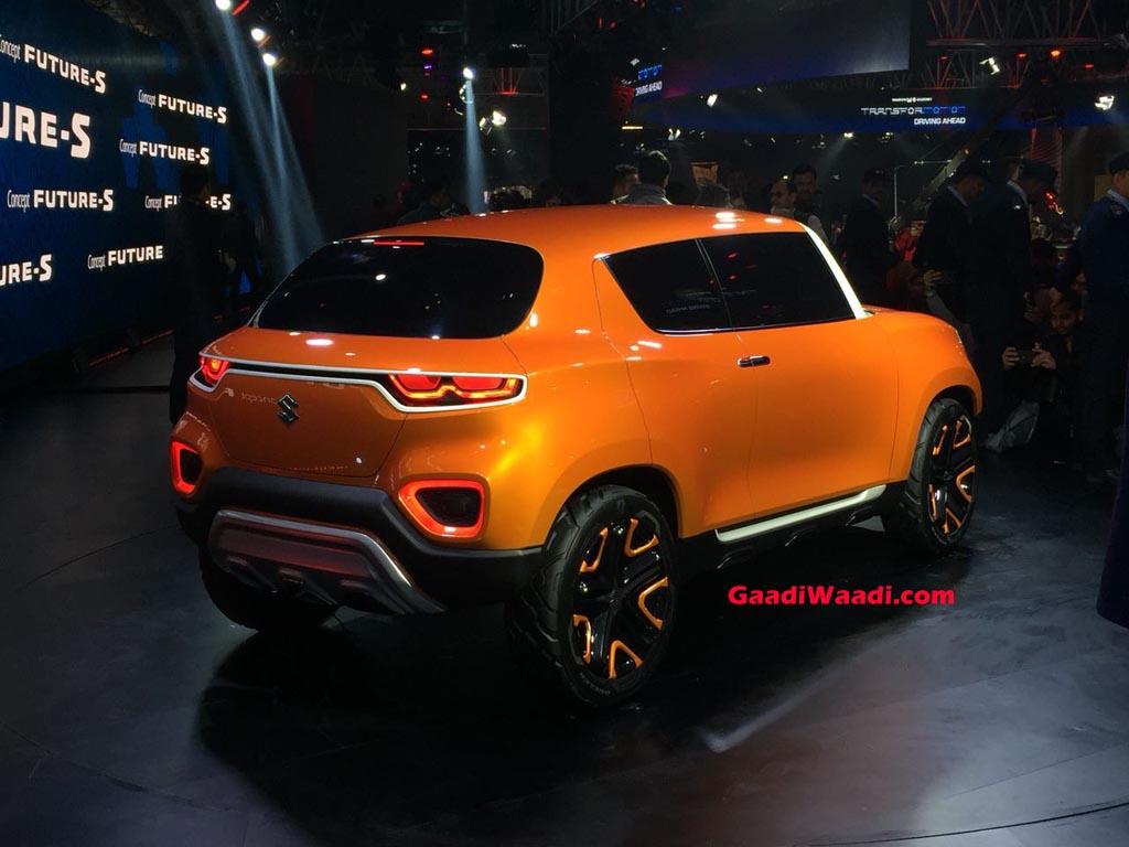 Maruti Suzuki Future S Concept Rear Jpg