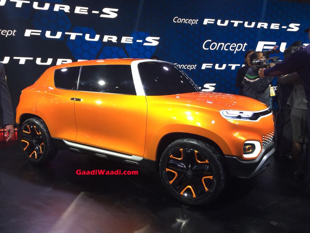 Suzuki Vitara 2019 >> 2018 Auto Expo: Maruti Suzuki Concept Future S Makes World Premiere