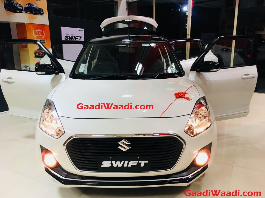 Maruti Suzuki Swift iCreate Sports grille