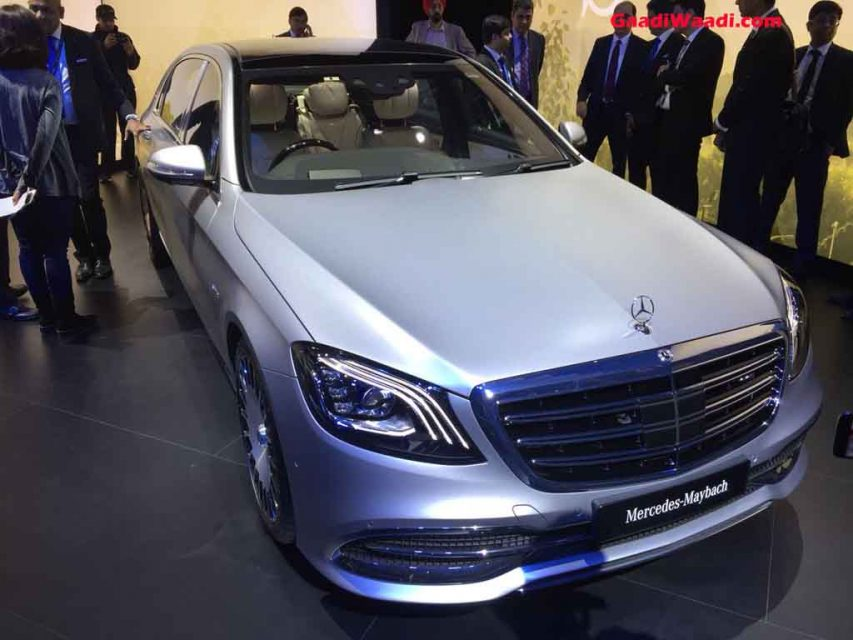 2018 auto expo mercedes maybach s650 launched at rs rs 2 for Mercedes benz s650 price