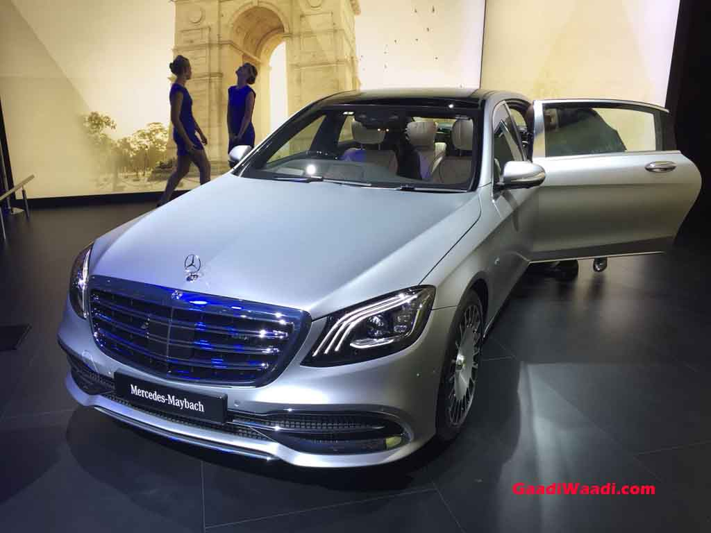 Mercedes Maybach S650 (Mercedes-Benz Radar-Based Safety Features)