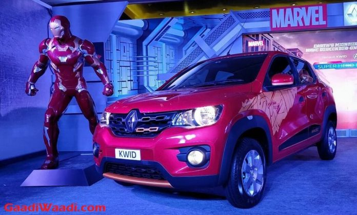 Renault Kwid Super Hero Edition Launched (Iron Man)- Price, Engine, Specs, Pics, Interior, Features (Renault Kwid Extended Warranty Offer)
