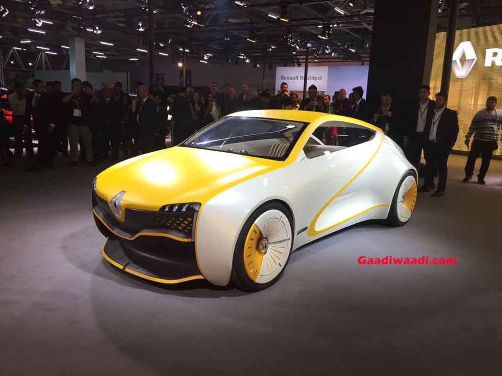 renault subcompact suv concept debuts at 2018 auto expo. Black Bedroom Furniture Sets. Home Design Ideas