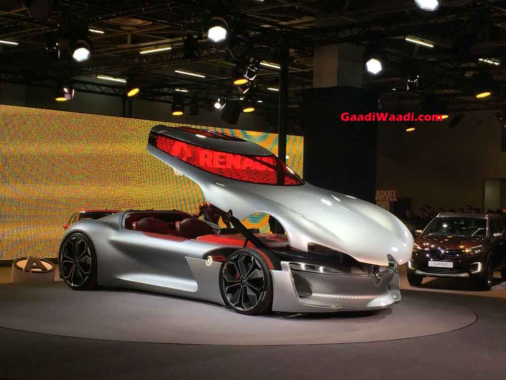 Ravishing Renault Trezor Concept Breaks Cover At 2018 Auto Expo