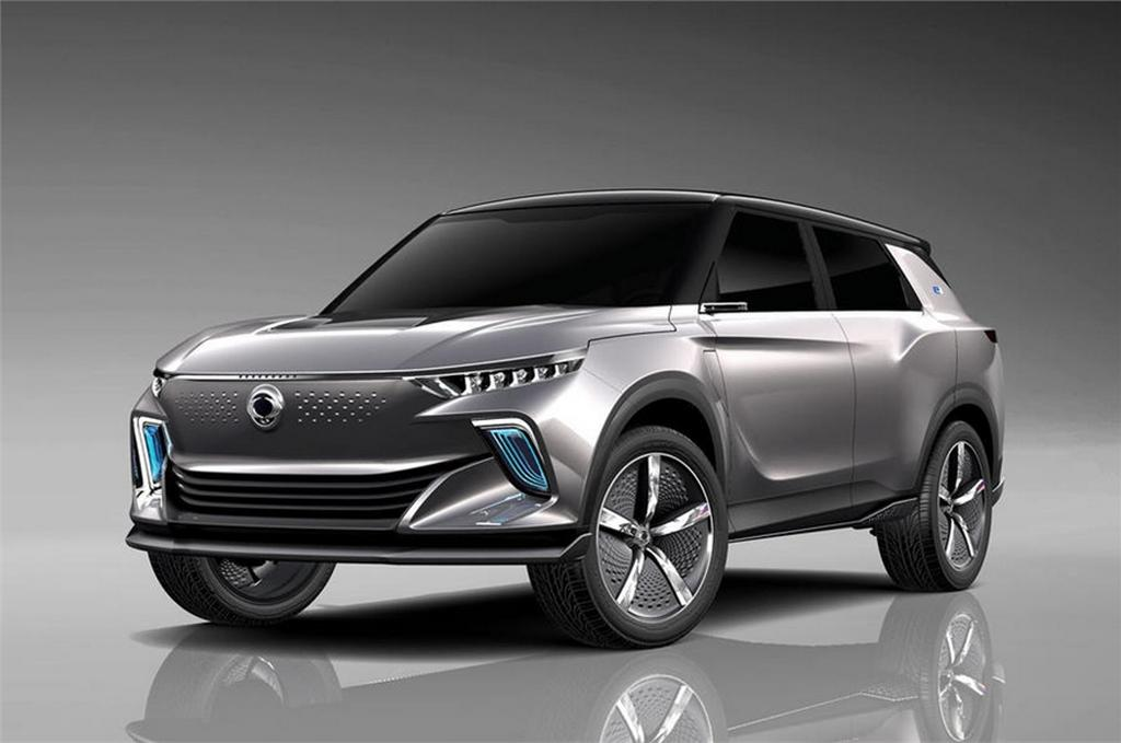 SsangYong e-SIV concept Front (Mahindra S201 Electric SUV