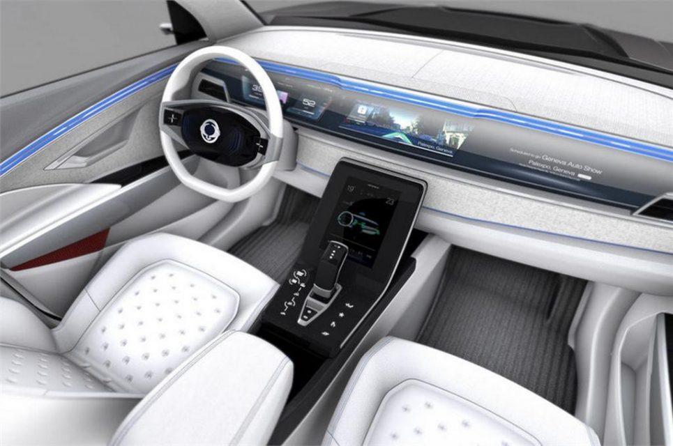 SsangYong e-SIV concept Interior
