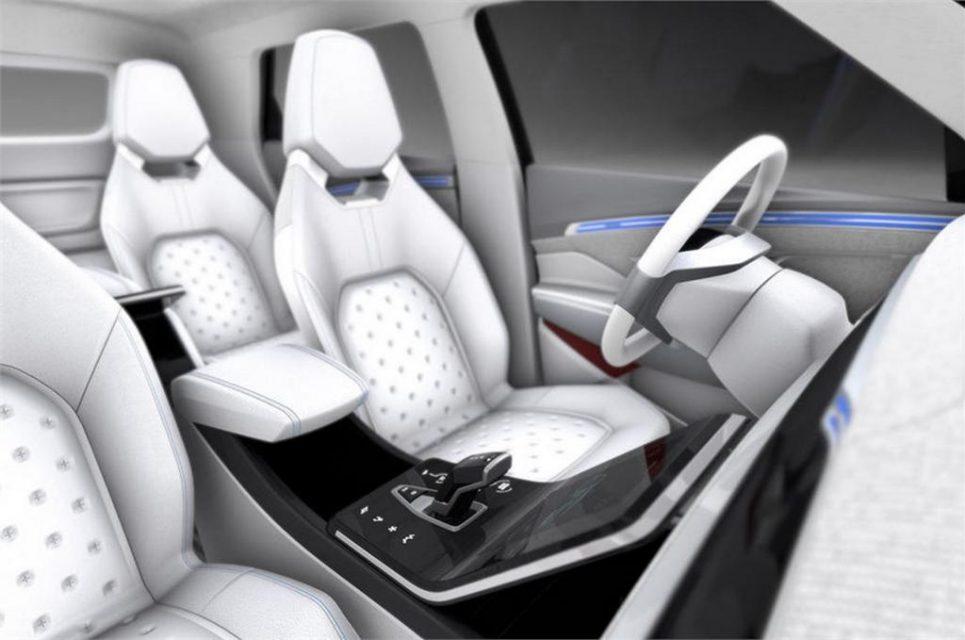 SsangYong e-SIV concept Interior Features