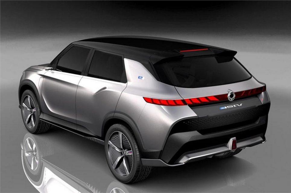 SsangYong e-SIV concept Rear