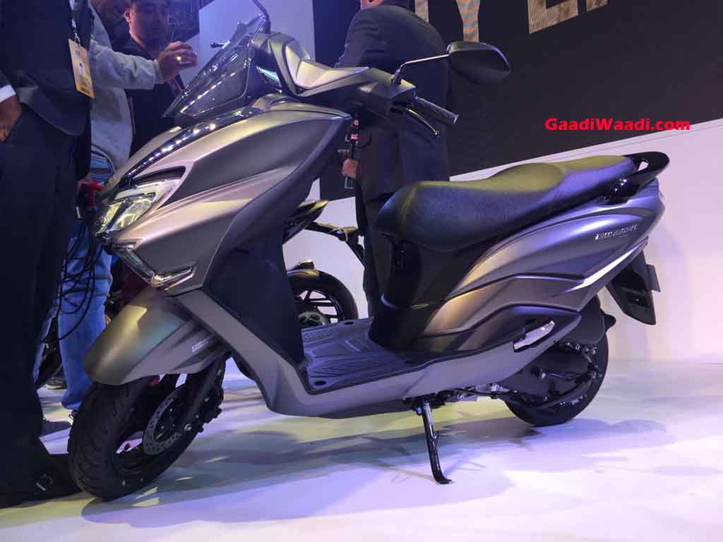 suzuki burgman street 125 india launch price specs. Black Bedroom Furniture Sets. Home Design Ideas
