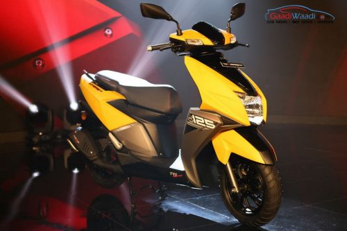 TVS NTorq 125 Launched In India At Rs. 58,750
