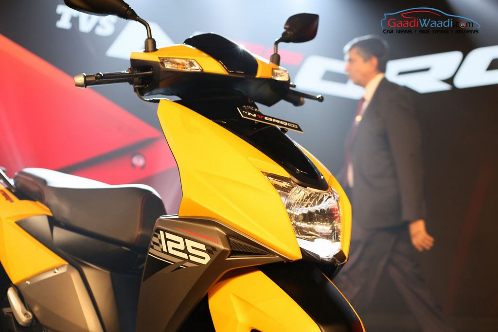 TVS NTorq 125 (Entorq 125) Launched In India - Price, Specs, Engine