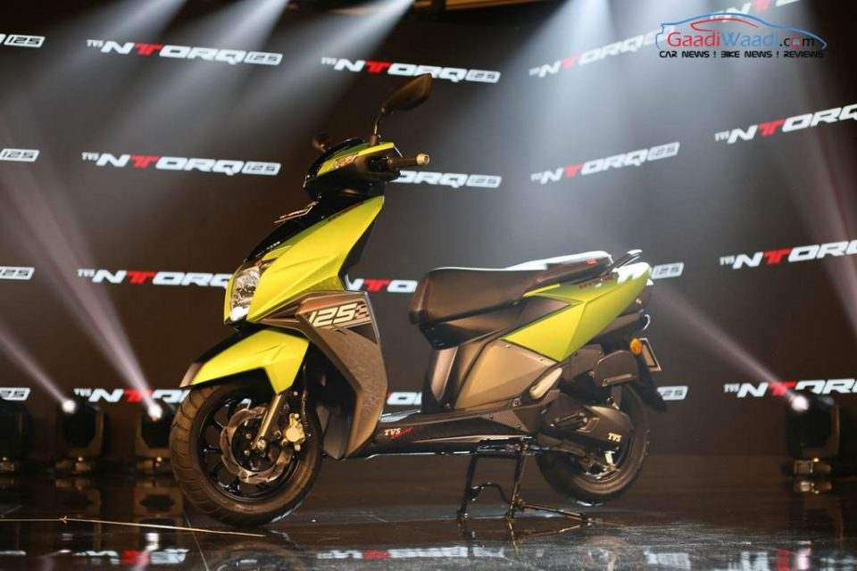 TVS NTorq 125 Launched In India - Price, Specs, Engine, Mileage, Pics, Features, Top Speed, Booking
