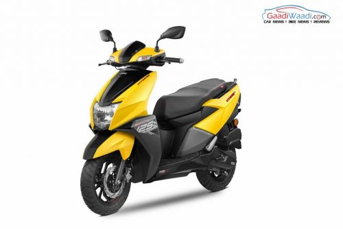 TVS NTorq 125 Launched In India - Price, Specs, Engine, Mileage, Pics, Features, Top Speed, Booking, Front End, Headlamp