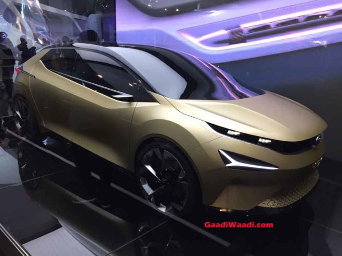 2018 Auto Expo: Stylish Tata 45X Concept Unveiled Previewing Baleno Rival