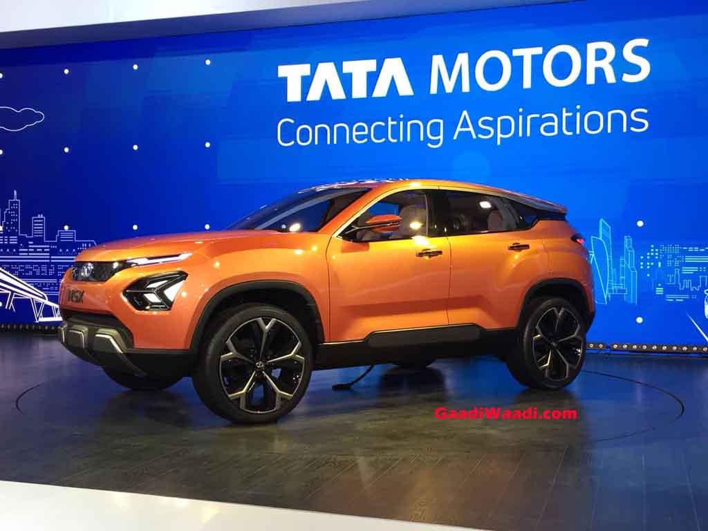 2018 Auto Expo Alluring Tata H5x Concept Gives Glimpses