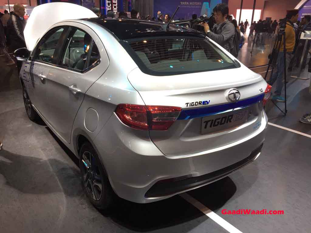 Tata Tigor Electric Version Launch Price Engine Specs Features