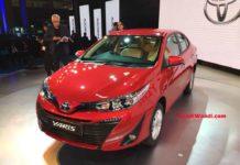 2018 toyota yaris sedan auto expo
