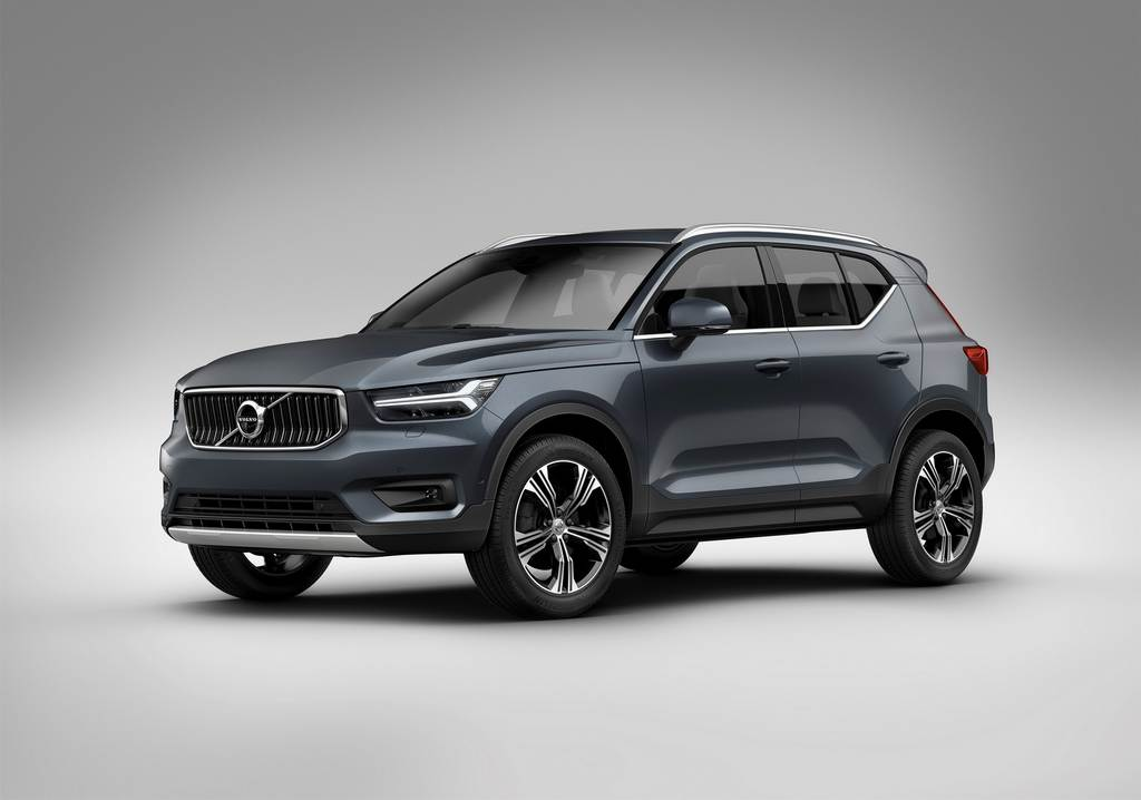 Volvo Debuts New Three-Cylinder Engine In XC40 Compact SUV