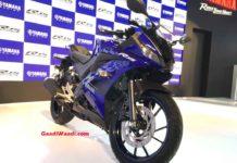 Yamaha R15 V3 Front Quarter (Yamaha YZF R15 V3 Price Hiked)