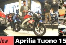 Aprilia Tuono 150 Walkaround Video auto expo