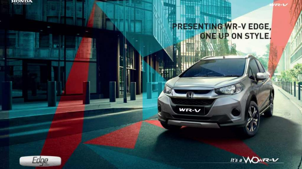 2018 Honda WR-V Edge Edition launched - Price, Engine, Specs, Features, Interior 4