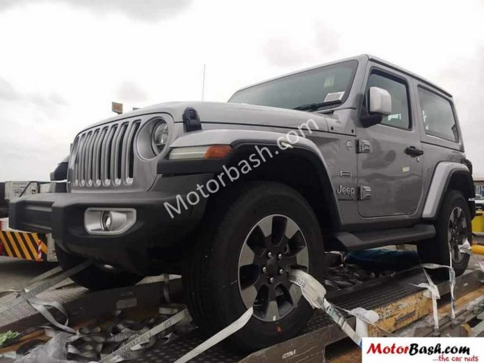 2018 Jeep Wrangler Two-Door And Four-Door Models Spied In India
