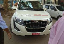 2018 Mahindra XUV500 Facelift Spied Undisguised Completely Ahead Of Launch