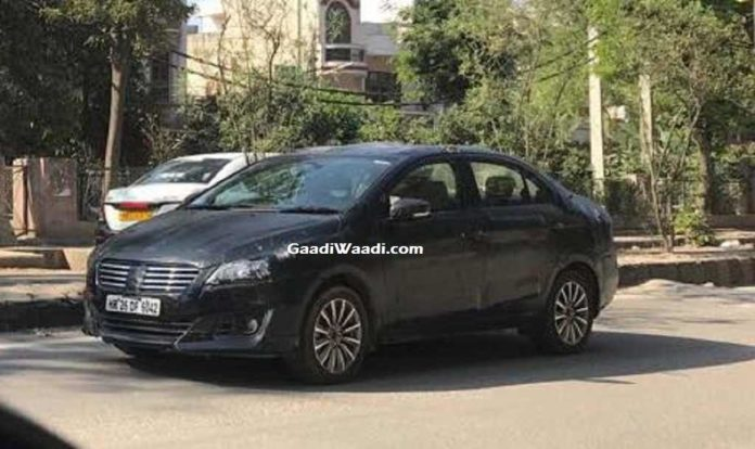 2018 Maruti Suzuki Ciaz Facelift Spied - Launch, Price, Engine, Specs, Mileage, Features, Interior